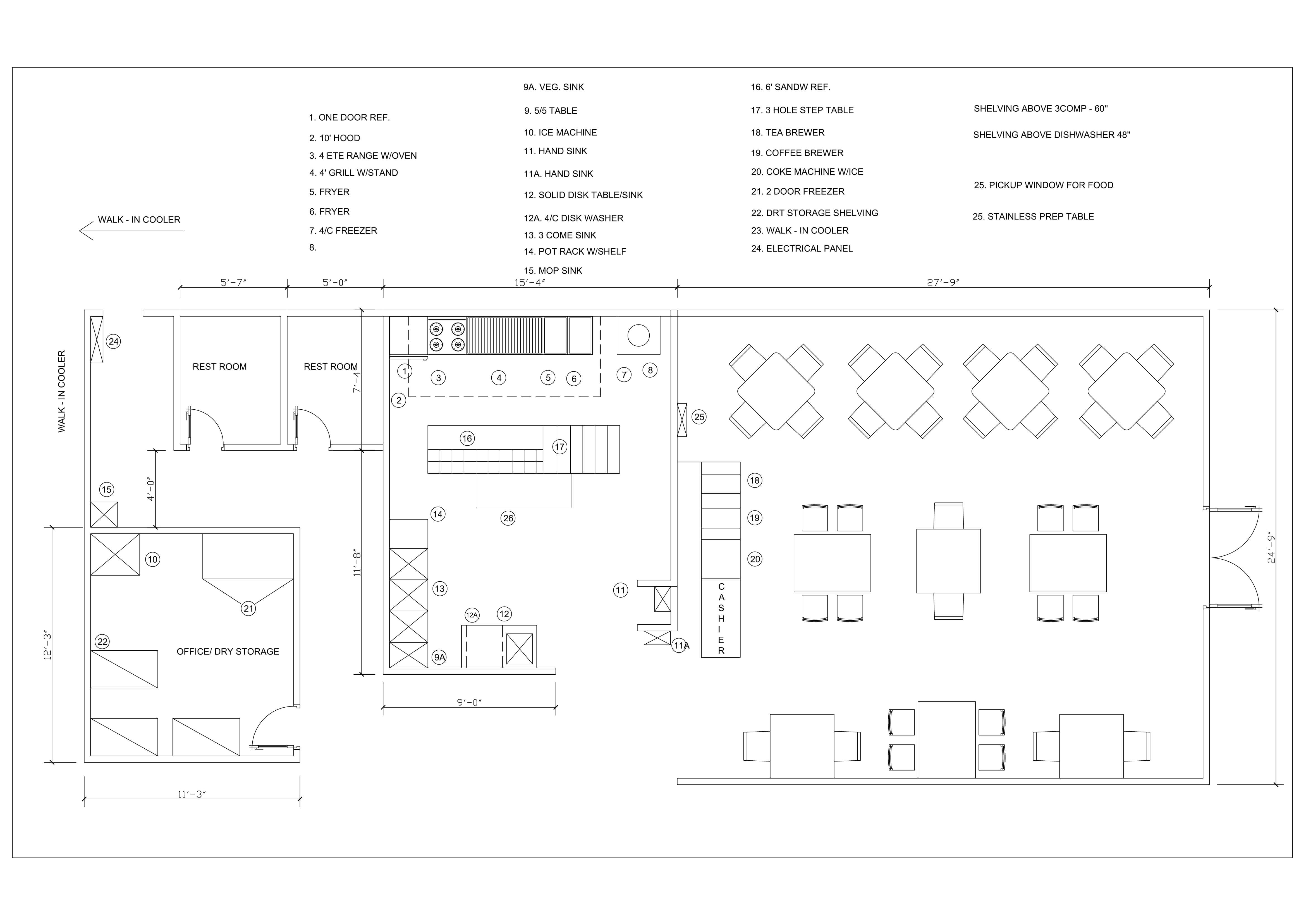 2D Floor Plan Sample Example