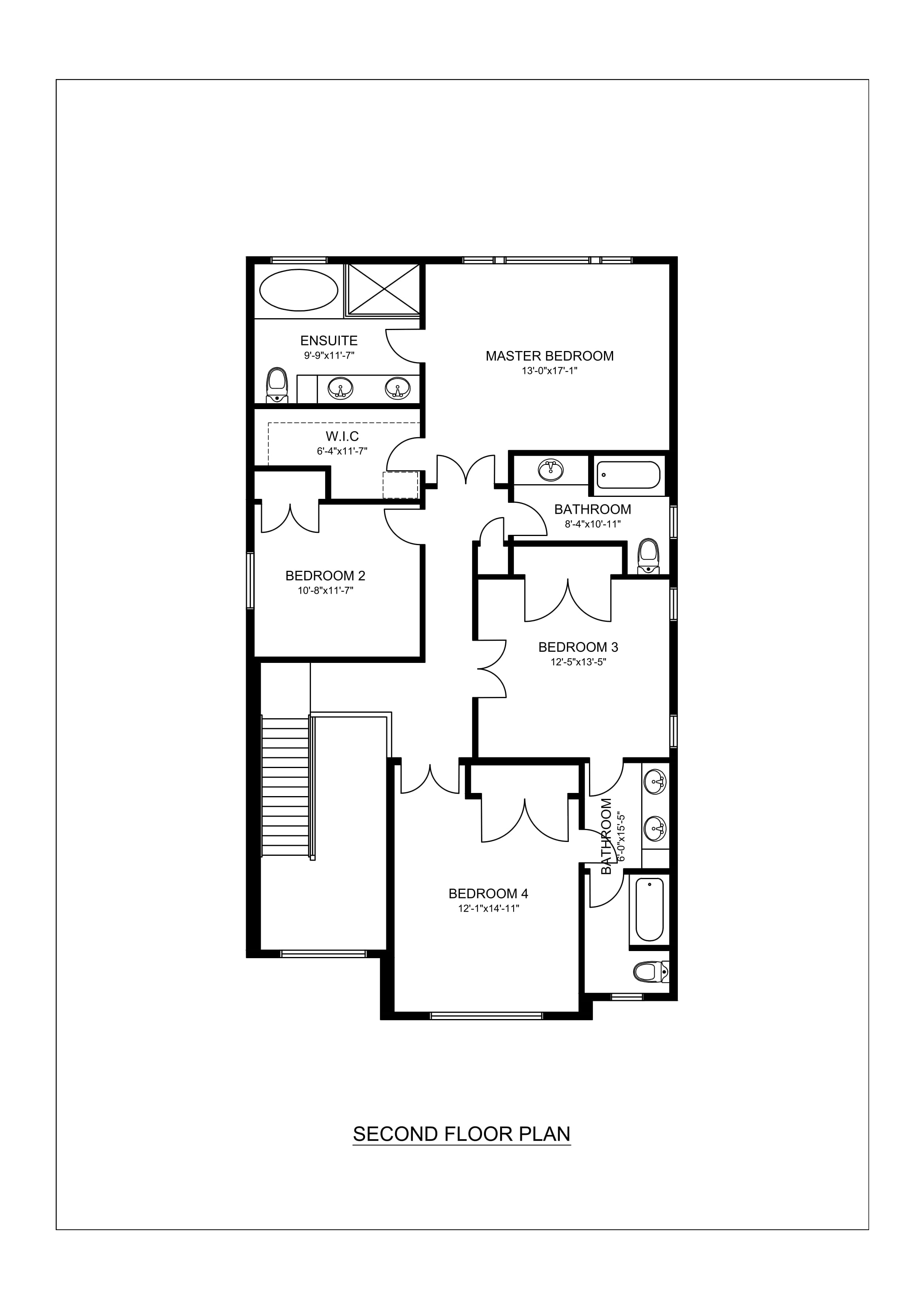 Real estate 2d floor plans design rendering samples for Sample home floor plans