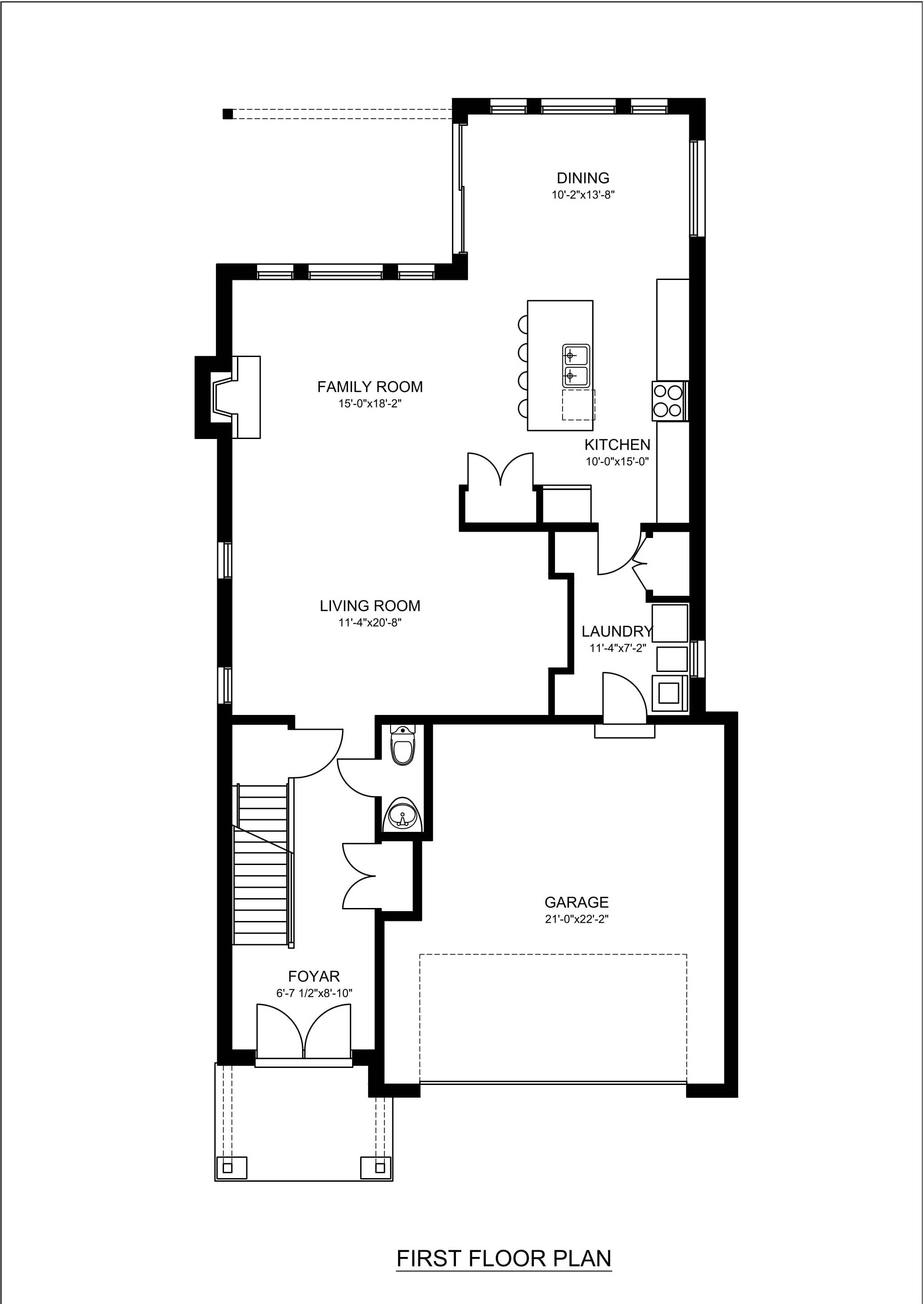 Real estate 2d floor plans design rendering samples for Sample house plans